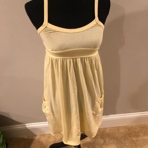 3 for $20 A&F woman's yellow dress extra small